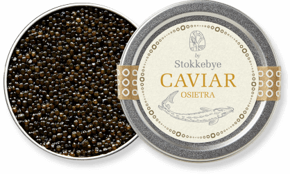 Beautiful and characteristic Oisetra Caviar