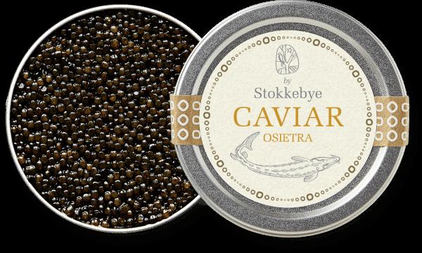 Beautiful and characteristic Oisetra Caviar