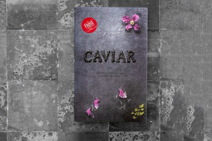 Gastronomic Poetry gives you beautiful recipes with caviar